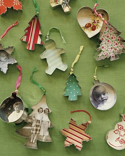Crafting with Martha and Amy: Cookie Cutter Ornaments