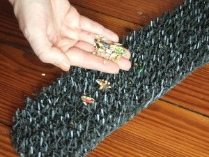 Little Guy's Ground Foraging Mat « Foraging for Parrots