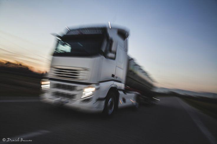 Camion, Tir, Fotografia, Pubblicità, Advertising, Sunset, Panning,