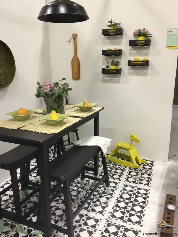 A Breakfast Nook Makeover With Wagner Paint Sprayers This Post