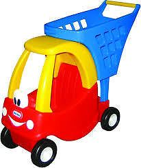 LITTLE TIKES - COZY SHOPPING CART - Making shopping fun by helping Mum and Dad