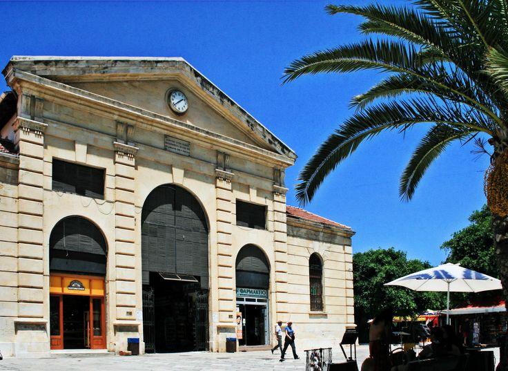 """The """"Agora"""", Old Municipal Market in the centre of Chania, Crete"""
