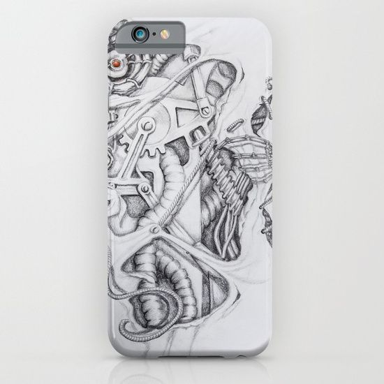 Biomechanical bits iphone case by I Love the Quirky. Protect your iPhone with a one-piece, impact resistant, flexible plastic hard case featuring an extremely slim profile. Simply snap the case onto your iPhone for solid protection and direct access to all device features.