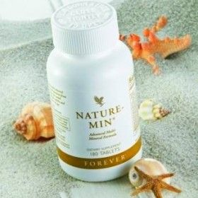 Nature-Min™ is an advanced, multi-mineral formula using new bio-available forms of minerals for maximum absorption. It provides minerals and trace minerals in a perfectly balanced ratio for maximum efficiency. Using a mineral base of natural seabed depositis, Nature-Min™ provides most of the minerals found in the human body.