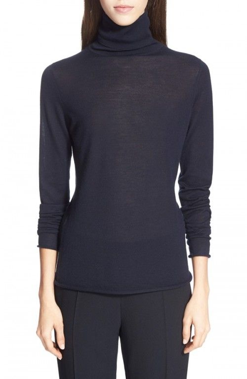 Chloe+Women's+Knit+Turtleneck+Cashmere+Sweater+|+Clothing