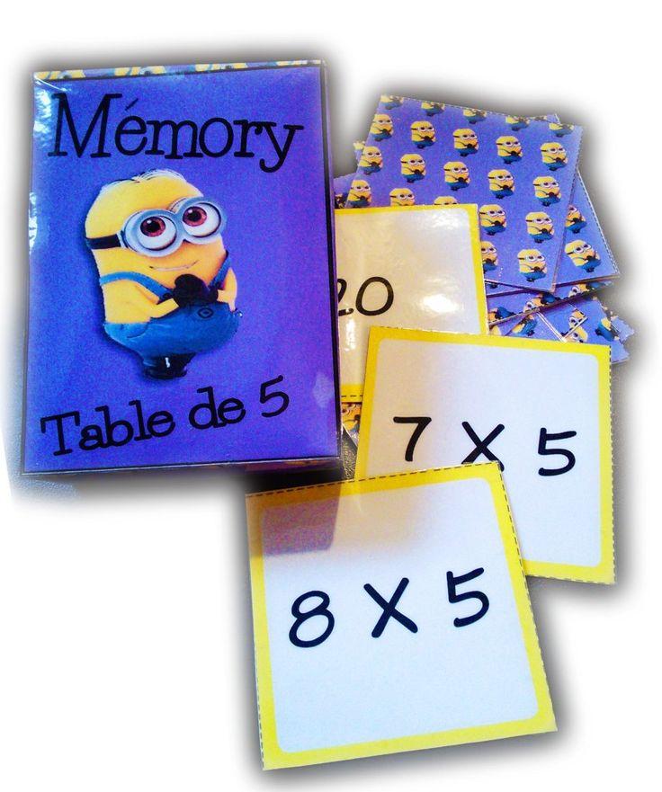 Les 321 meilleures images du tableau les tables sur - Apprendre ses tables de multiplication en jouant ...