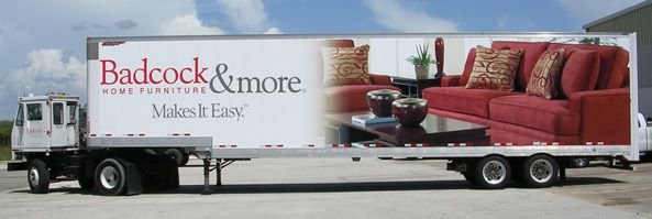 Badcock Home Furniture Trailer Wrap | Box Truck U0026 Trailer Wraps | Pinterest  | Trailers, Home Furniture And Wraps