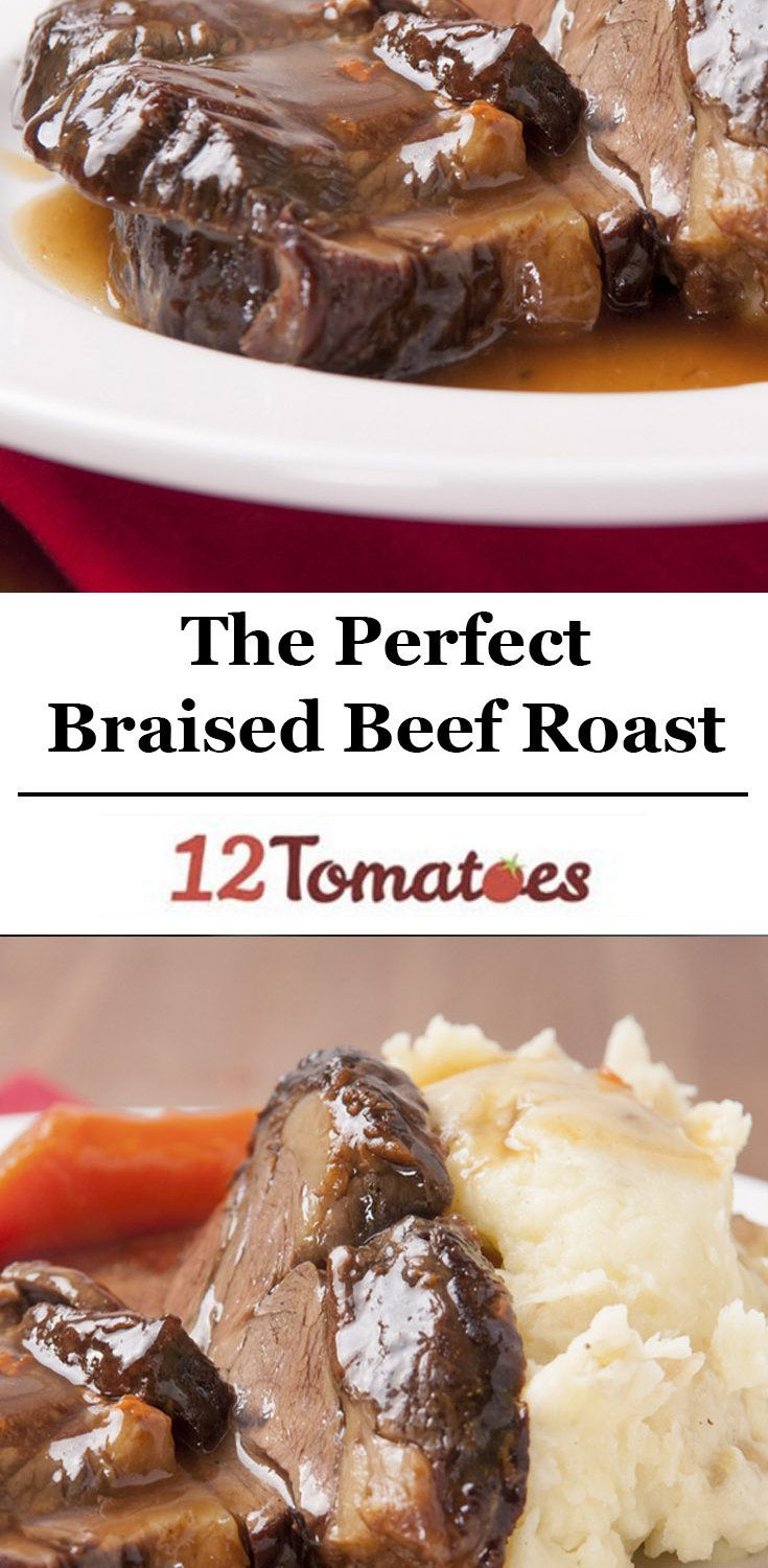 Braised Beef Roast. Use brown sugar substitute for lower carb