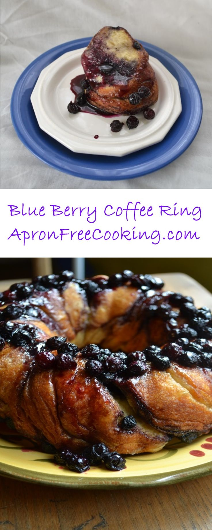 Simply+Delicious!+This+Blue+Berry+Coffee+Ring+from+ApronFreeCooking.com+is+easy+to+make+and+looks+amazing!+