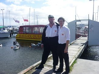 Your excellent Captian's on the cruise, Captain Kalgan and Captain Jack :)