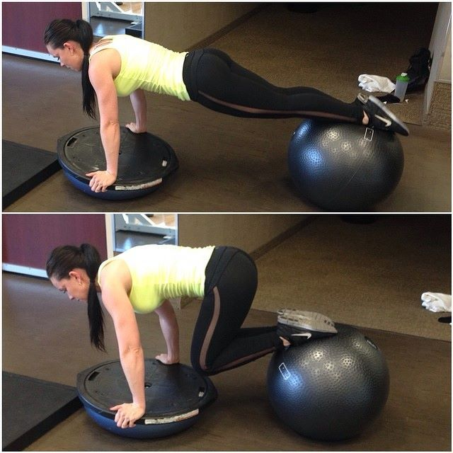 Bosu Ball Good Or Bad: 17 Best Ideas About Reverse Crunches On Pinterest