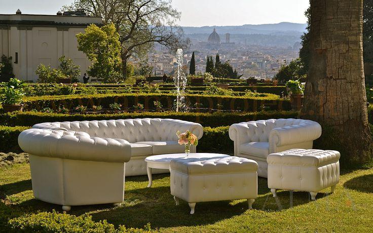 ALMA Project @ Villa il Garofalo - Chesterfield sofa, garden, duomo brunelleschi 13