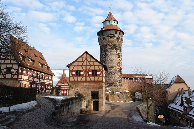 Nuernberg Castle Germany