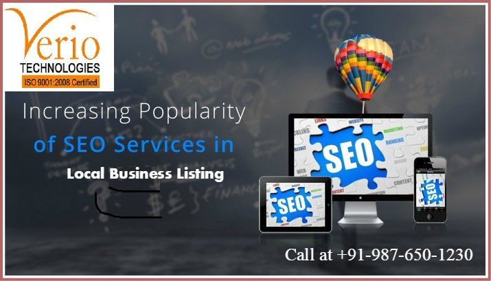 Rank High on All Search Engines with our professional local SEO Services done with experts to generate more Leads and Organic Traffic. Please Call at +91-987-650-1230 and our SEO experts will work to Optimize your Website for better Keyword Rankings.