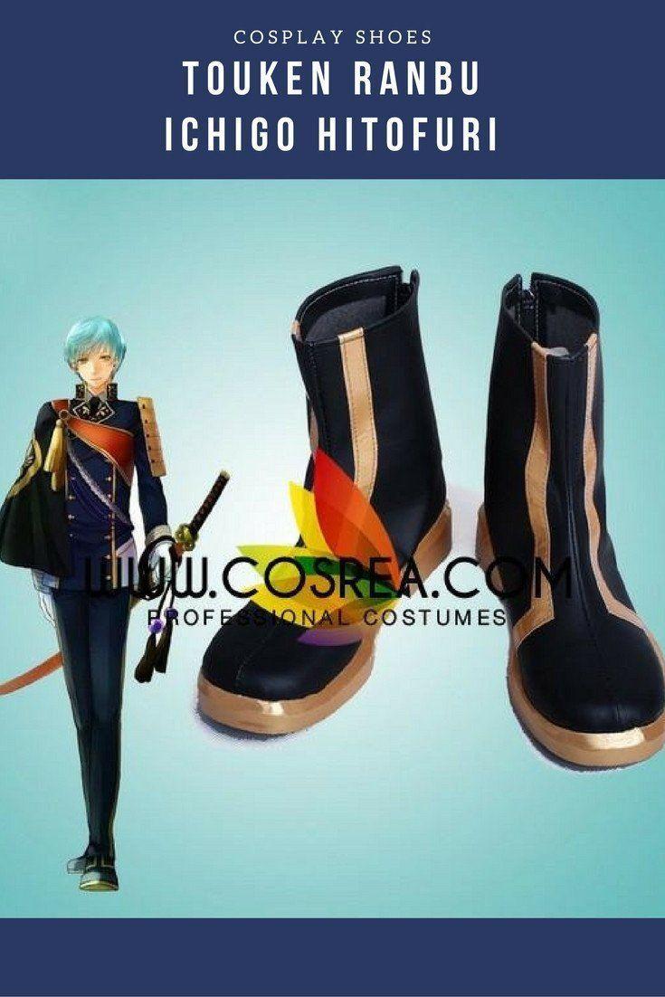 Touken Ranbu Ichigo Hitofuri Cosplay Shoes