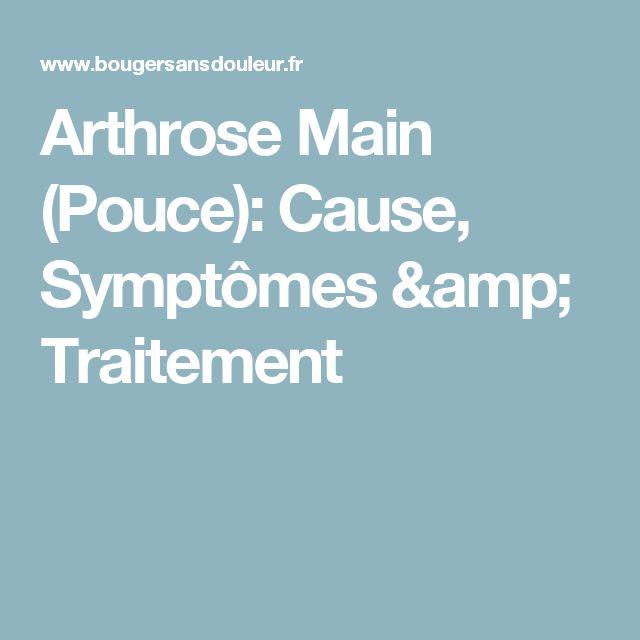 Arthrose Main (Pouce): Cause, Symptômes & Traitement