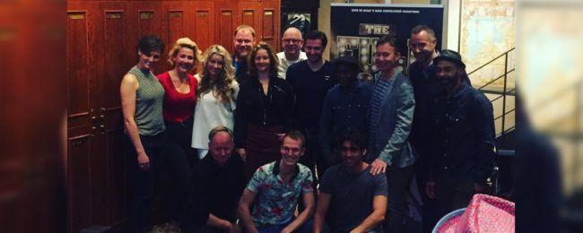 Volledige cast The Full Monty gepresenteerd #musicals #theater