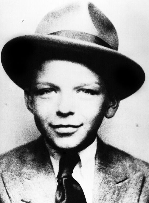 Frank Sinatra, age 8