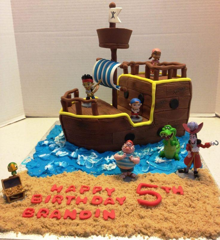 MaryMel Cakes Jake The Neverland Pirates