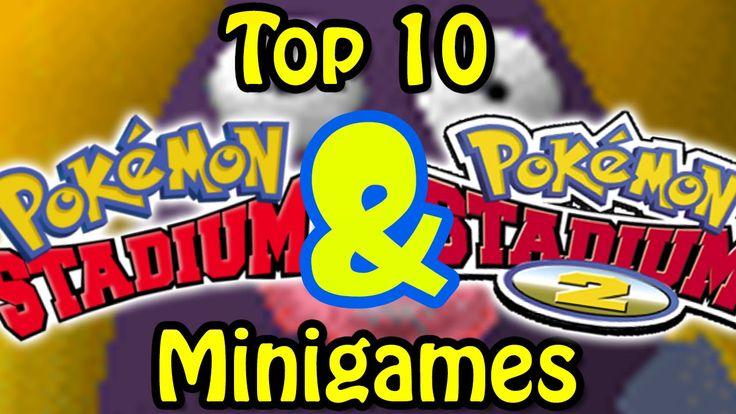 Top 10 Pokemon Stadium 1&2 Minigames