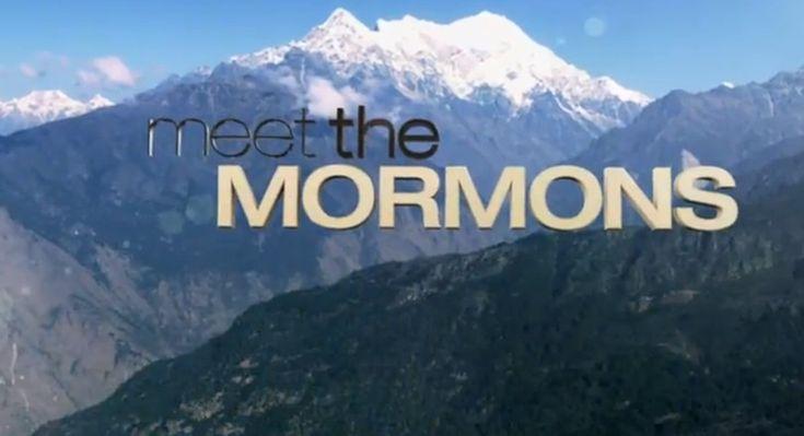 "LDS Church announces feature-length documentary, ""Meet the Mormons."" #meetthemormons"