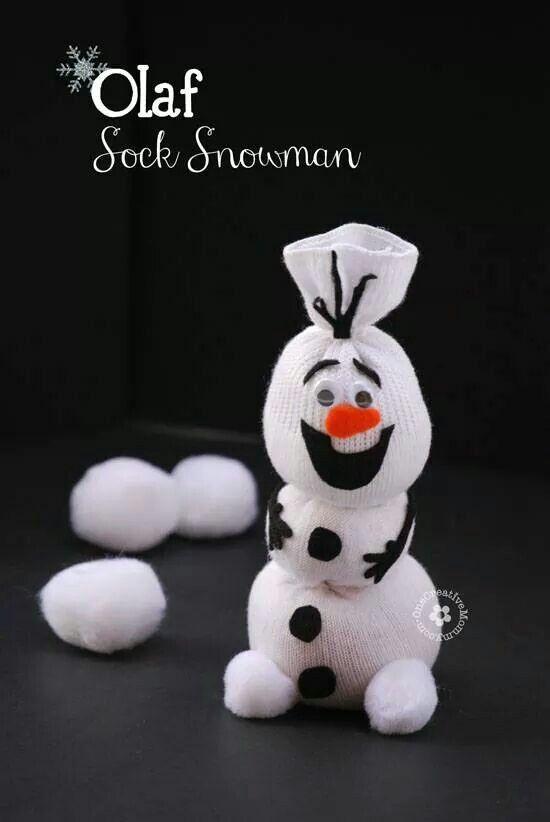 Olaf sneeuwpop
