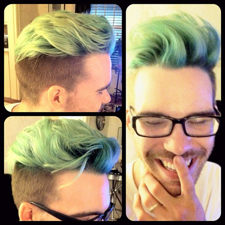 Mint Green Hair Color