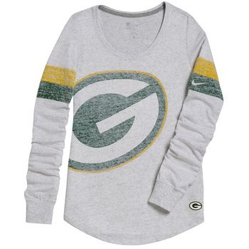 Green Bay Packers Women's Take It Long Top at the Packers Pro Shop http://www.packersproshop.com/sku/5604507102/