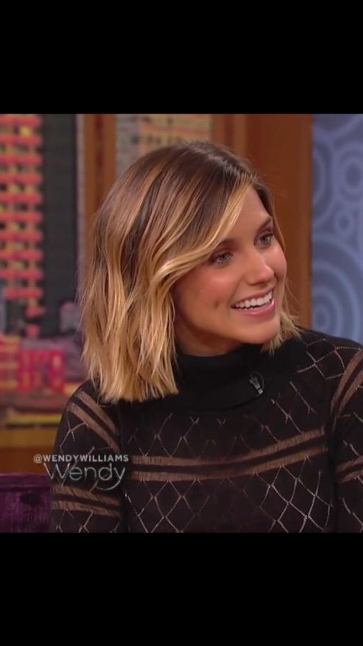 Sophia Bush=hair goals