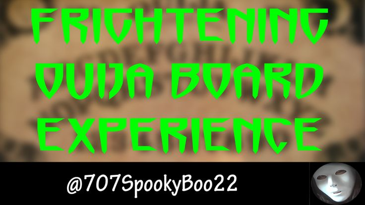 Frightening Ouija Board Experience  Click to watch and subscribe https://youtu.be/1TknyqMgWcQ