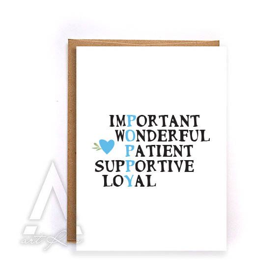 Fathers day card for poppy, fathers day card funny grandpa, greeting cards, birthday cards, cute grandpa birthday, gift for dad GC227 by artRuss on Etsy