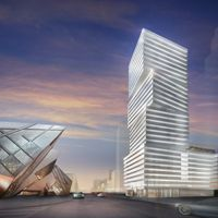 Exhibit #Condominiums by @BazisInc.  Will probably be one of #Toronto's coolest #towers