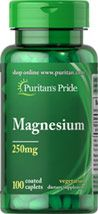 Buy Magnesium 250 mg 200 Tablets at discount prices from top vitamins and supplements manufacturer. Buy 1 get 1 or buy 2 get 3 may be available.
