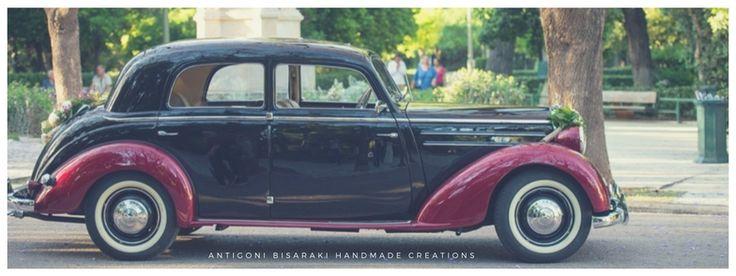 Turn your wedding into a fairytale with vintage  Mercedes Benz 170s !! #weddingcar #weddingingreece #weddingcarhire #vintage #weddingdestination #antigonibisarakihandmadecreations