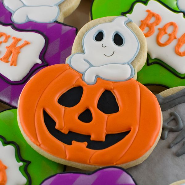 sugar cookie halloween cookies decoratedhalloween