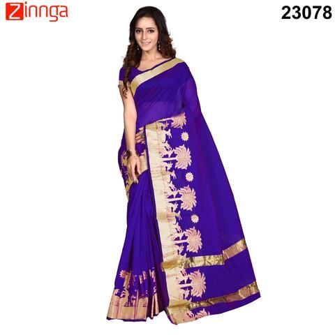 Purple Color Banarasi Silk Saree    #sarees #Fashion #Looking #Popular #Offers #Deals #Zinnga #Zinngafashion #offers #Deals #Looking #New #Trendz #Amazing