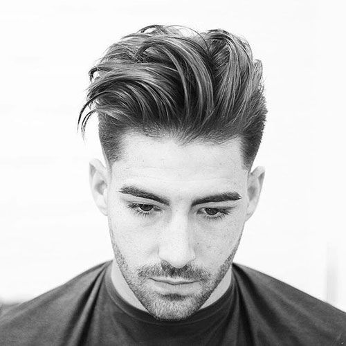 Best Modern Quiff - Fade with Quiff and Beard