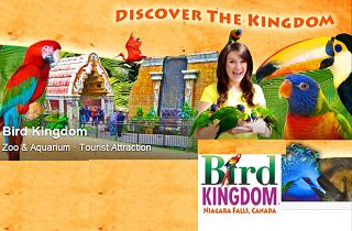 Bird Kingdom Niagara Falls Coupons & Discount Admission Tickets