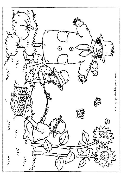 fall christian coloring pages - photo#9
