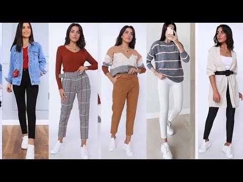 ملابس بنات مراهقات 14 سنة فما فوق خريف و شتاء 2020 2021 موضة بنات خريف 2020 ملابس بنات للمدرسة Youtube Outfits Fashion Capri Pants