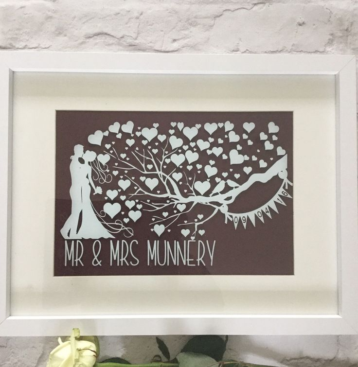 Personalised Wedding Gift Mr And Mrs Presentanniversary Engagement Unique Present