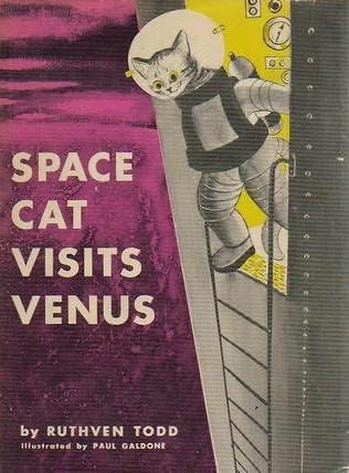 book cover of Space Cat Visits Venus   by Ruthven Todd