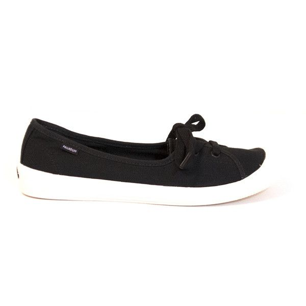 Palladium Flex Ballet - Black 2-Eye Slip-On Comfort Sneaker 93156-030 FLEX BALLET BLK