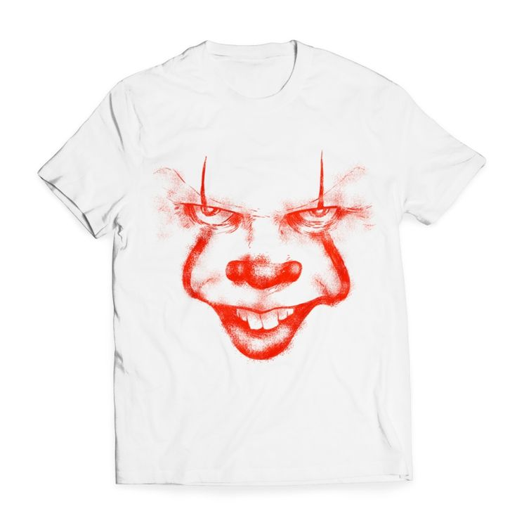 clown says hello T-shirt design