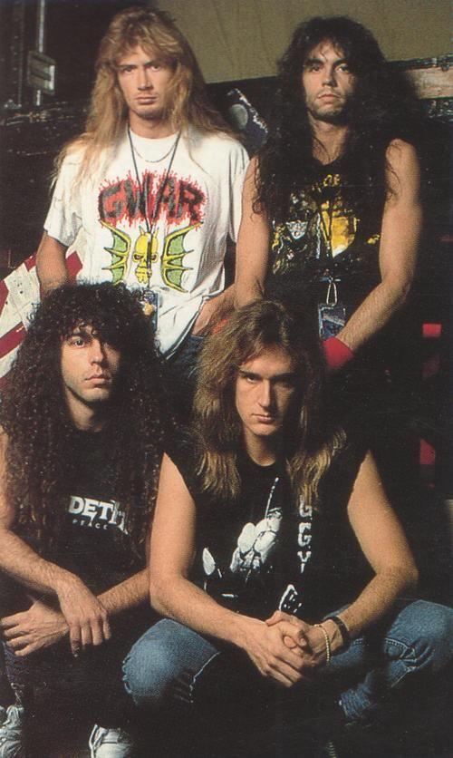 Megadeth. Props to Dave Mustane's Gwar shirt!