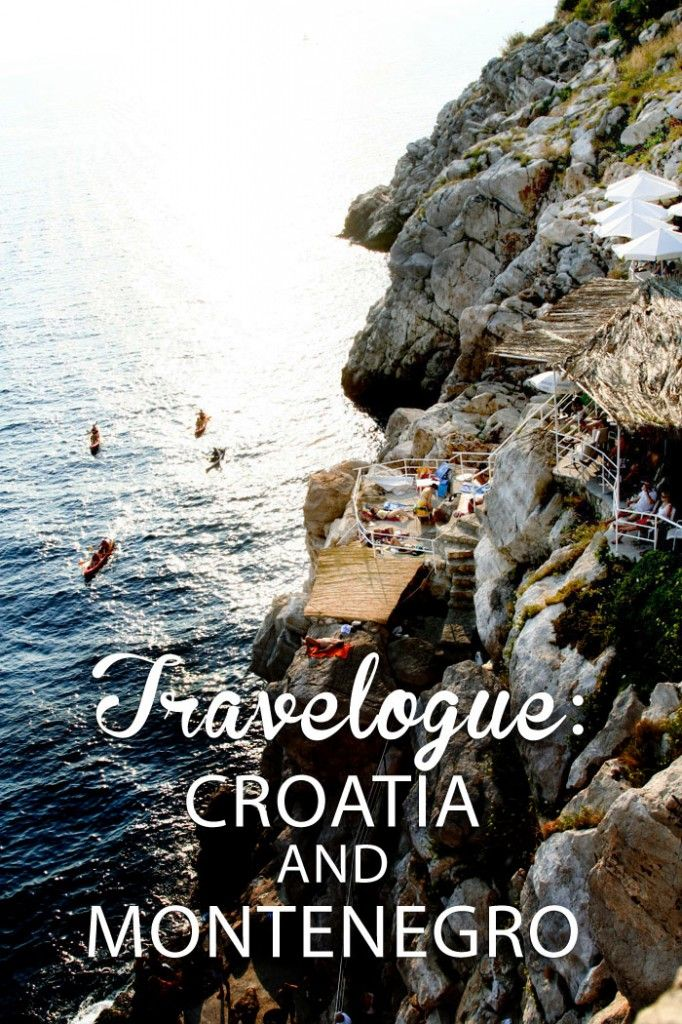 Updated Travelogue: Croatia & Montenegro Photo