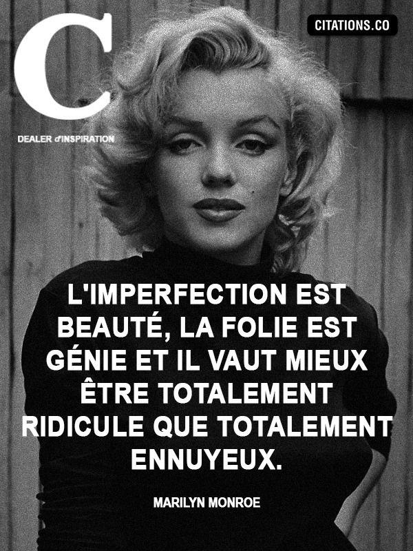 Marilyn Monroe citation