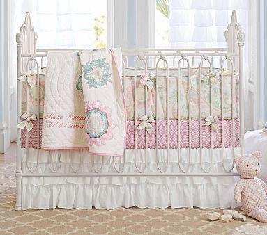 Emma Iron Crib #PotteryBarnKids