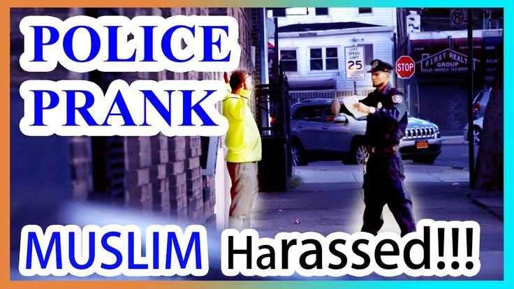 MUSLIM POLICE Gets HARASSED (Police PRANK)