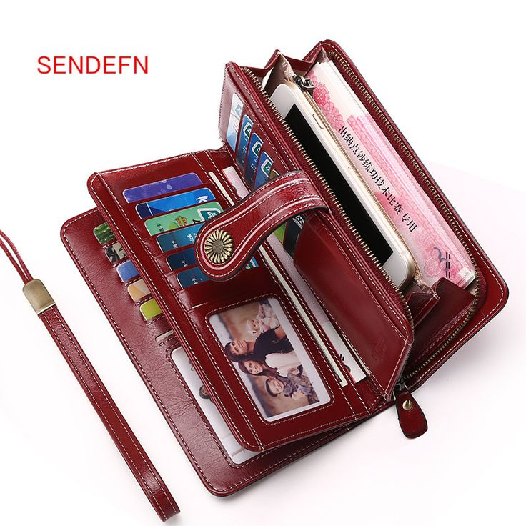 Sendefn Large Capacity Split Leather Card Holder Quality Wallet Long Women Wallet Zipper Clutch Casual Zipper Retro Purse Women. Yesterday's price: US $21.42 (17.71 EUR). Today's price: US $21.42 (17.71 EUR). Discount: 58%.